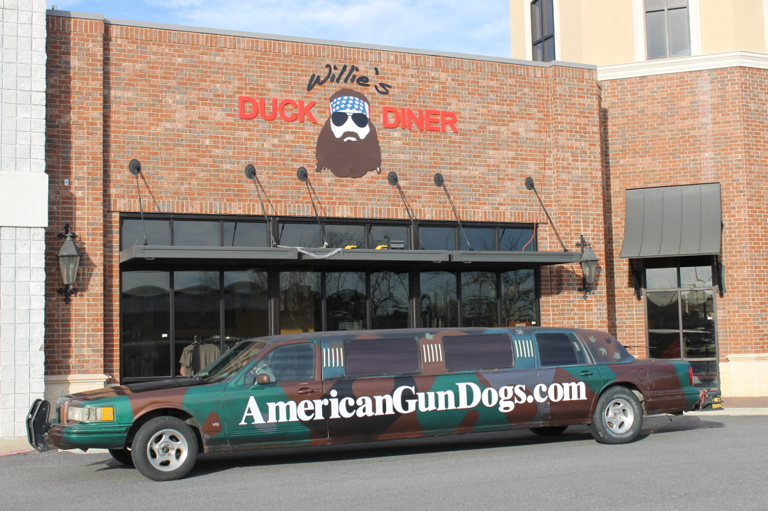 """The Limo"""" visits Duck Dynasty / Duck Commander in South Monroe, LA"""